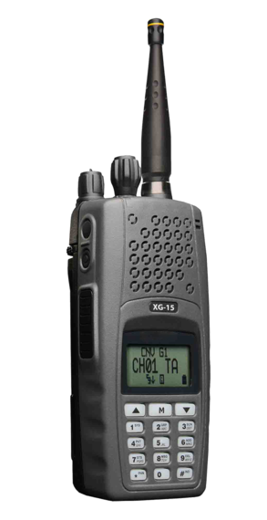 XG-15P Two Way Portable Radio