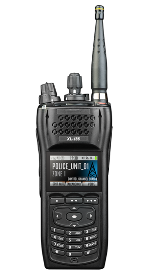 XL-185Pi Intrinsically Safe Single-Band Portable Radio