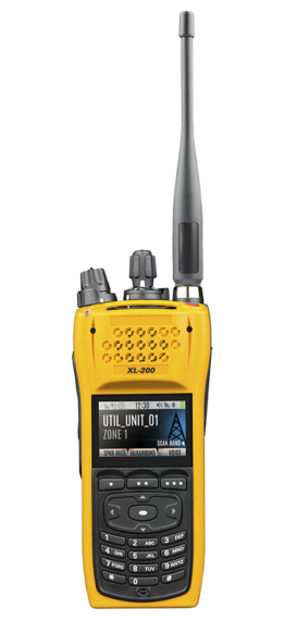 XL-200Pi Intrinsically Safe Multiband Portable Radio