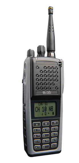 XG-75Pe Two Way Portable Radio